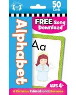 Alphabet Christian-50 Count Flash Card