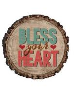 Magnet Wood: Bless Your Heart, Round