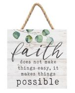 Faith Does Not Make Things Easy, String Sign