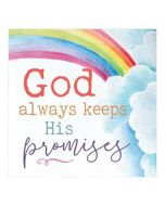 God Always Keeps His Promises, Word Block