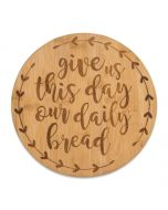 Bamboo Trivet-Our Daily Bread
