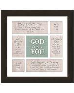 God is for You Framed Art