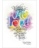 Tim Botts Journal- Delight Yourself In The Lord