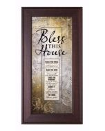 Framed-Words Of Grace-Bless this House