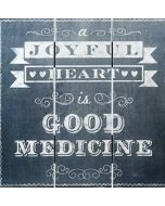 Plaque (Chalk Print) - Joyful Heart (50152)