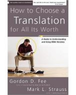 How To Choose A Translation For All Its Worth