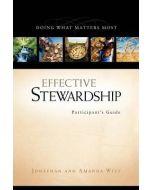 Effective Stewardship - Participant's Guide