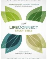 NIV LifeConnect Study Bible - Hardcover, Red Letter Edition