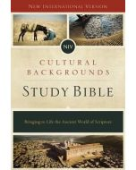 NIV Cultural Backgrounds Study Bible - Hardcover, Red Letter Edition