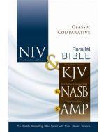 NIV, KJV, NASB, Amplified, Classic Comparative Parallel Bible