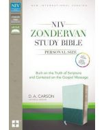 NIV Zondervan Study Bible Personal Size (Imitation Leather -Blue/Turquoise)