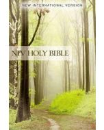 NIV Value Outreach Bible- SC, Green Forest