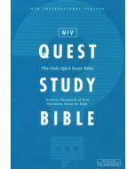 NIV Quest Study Bible, Hardcover, Comfort Print