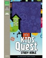 NIrV Kids' Quest Study Bible Imitation Leather-Blue
