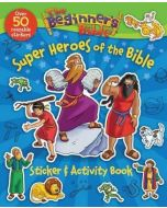 Beginner's Bible Super Heroes of the Bible Sticker and Activity Book, The