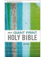 NirV Giant Print Holy Bible - Hardcover