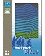 NIV Backpack Bible (Charcoal/Stripes)