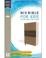 NIV, Bible for Kids (Leathersoft, Tan)