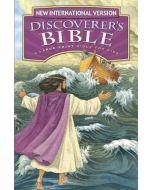 NIV Discoverer's Bible Large Print-HC