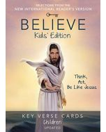 Believe Key Verse Cards: Children Edition