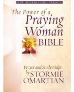 Power of A Praying Woman NIV Bible - Camel Bonded Leather