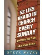 52 Lies Heard In Church Everyday