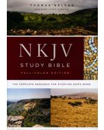 NKJV Full-Colour Study Bible, Hardcover, Comfort Print