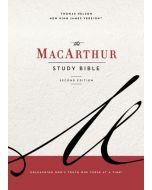 NKJV MacArthur Study Bible, The, 2nd Edition, Cloth, Blue, Comfort Print
