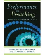 Performance In Preaching (w/DVD)