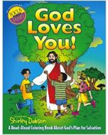 God Loves You! (Coloring Book)