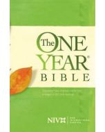 NIV One Year Bible - HC
