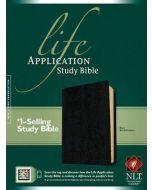 NLT Life Application Study Bible (Black)