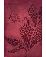 NKJV Woman's Study, The - (Personal Size Leathersoft-Cranberry)