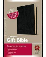 NLT Compact Gift Bible Bonded-Black