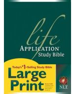 NLT Life Application Study Bible, Second Edition, Large Print, Hardcover