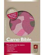 NLT Camo Bible (Canvas Pink)
