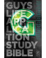 NLT Guys Life Application Study Bible (Hardcover)