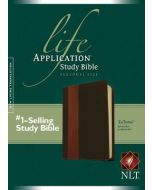Life Application Study Bible NLT, Personal Size, Brown & Tan