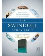 NLT Swindoll Study Bible - Brown/Teal/Blue