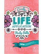 NLT Girls Life Application Study Bible - Hardcover, New Edn