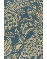 ESV Personal Size Reference Bible (Cloth over Board, Blue Flora)