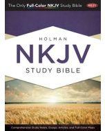 NKJV Holman Study Bible (Jacketed Hardcover)