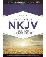 NKJV Holman Study Bible (Large Print Edition, Hardcover)