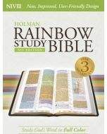 NIV Rainbow Study Bible - Hardcover