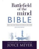 Battlefield of the Mind Bible, Amplified Version - Hardcover