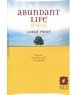 NLT Abundant Life Bible (Large Print)