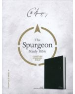 CSB Spurgeon Study Bible, Black Genuine Leather