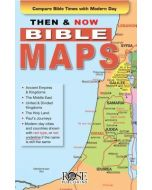Then And Now Bible Maps - Pamphlet