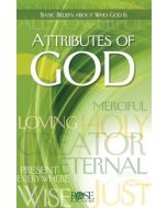 Attributes Of God - Pamphlet