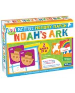 My First Memory Match Game: Noah's Ark Boxed Puzzle